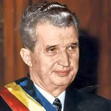 Former Romanian Presidenet Nicolae Ceaucescu.