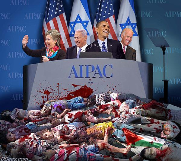 AIPAC Clinton Netanyahu Obama Biden