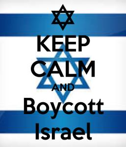 Keep Calm and Boycott Israel