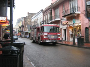 New Orleans Fire Truck