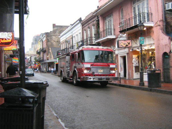 New Orleans Fire Truck