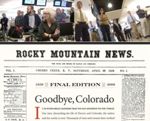 Rocky Mountain News Final Edition