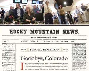 Rocky Mountain News Final Edition