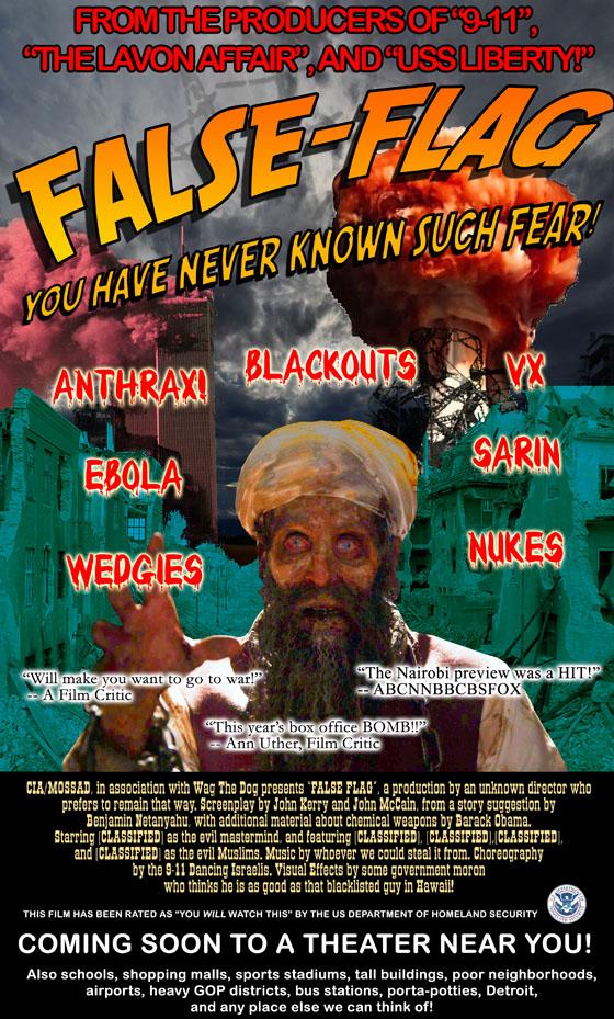 False Flag: The Movie (credit: Michael Rivero, www.whatreallyhappened.com)