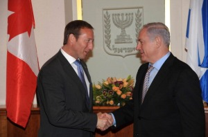 Isreali And Canadian Defence Ministers Meet in Tel Aviv