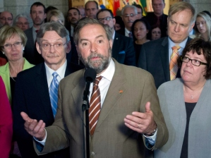 israel - Thomas Mulcair