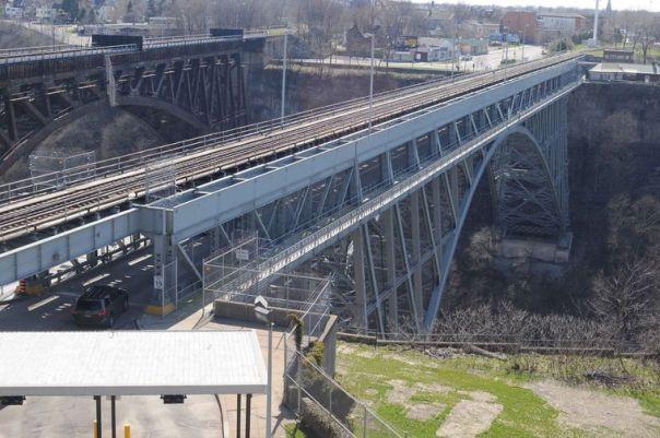 Whirlpool Bridge Niagara Falls NY Niagara Gazette