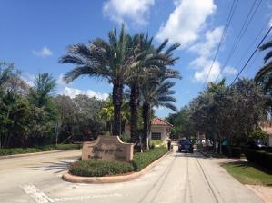 Roxanne Dube's gated community in Pinecrest, Florida (William Marsden, National Post)