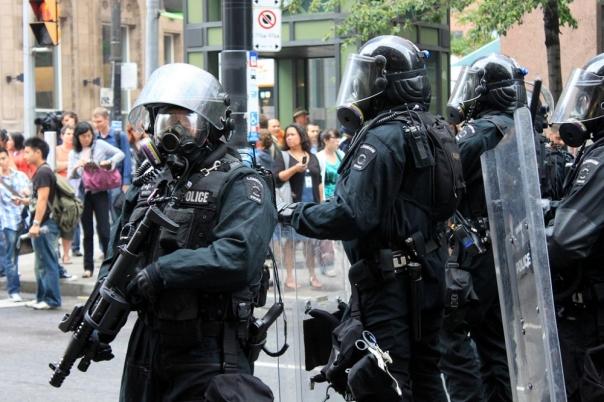 Toronto Police Riot 1