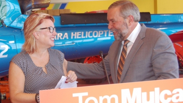 Carolynn Ioanonni Tom Mulcair