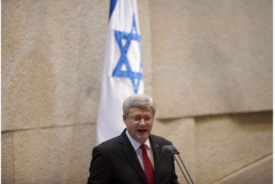 Stephen Harper Knesset (2)