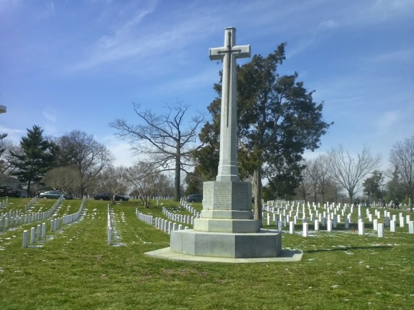 Canadian war section at Arlington National Cemetery, March 27, 2014 (LettersToTheBeast)