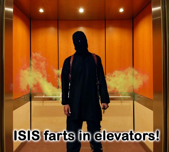 ISISfartsinelevators