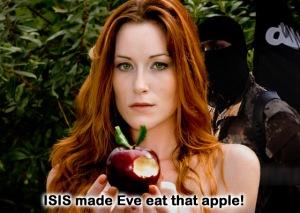 ISISmadeeveeattheapple