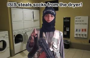 ISISstealssocks