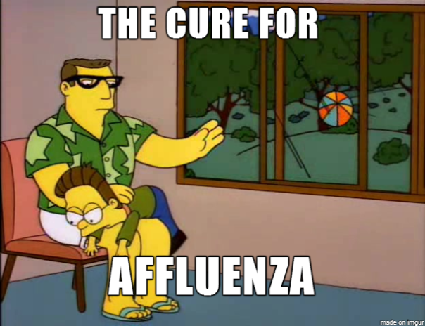 The Cure for Affluenza