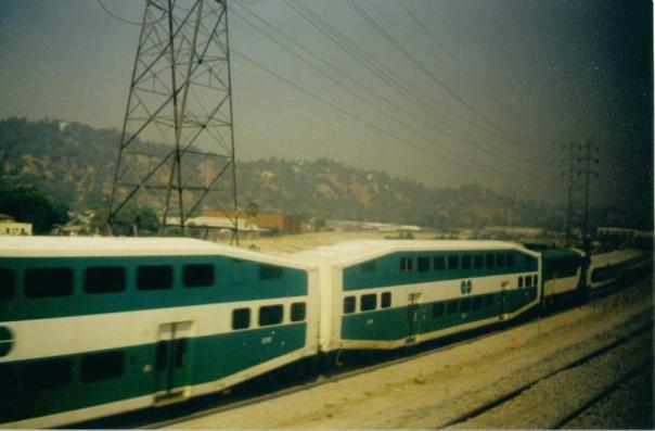 073 Metrolink railyard, Burbank, California