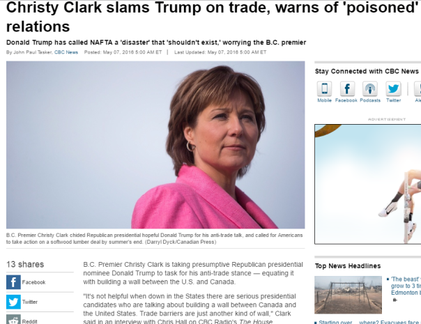2016-05-07 11_43_18-Christy Clark slams Trump on trade, warns of 'poisoned' relations - Politics - C