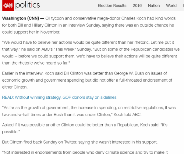 2016-05-07 12_47_20-Charles Koch_ 'Possible' Clinton could be better than GOP nominee - CNNPolitics.