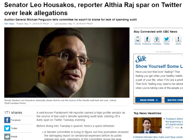 2016-05-20 10_40_44-Senator Leo Housakos, reporter Althia Raj spar on Twitter over leak allegations