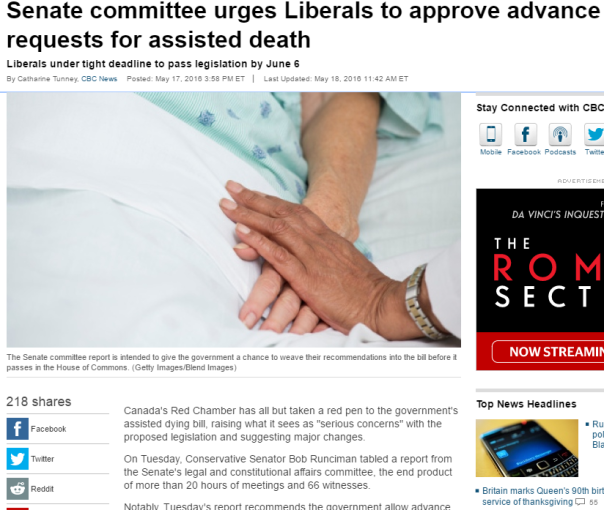 2016-06-10 07_56_12-Senate committee urges Liberals to approve advance requests for assisted death -