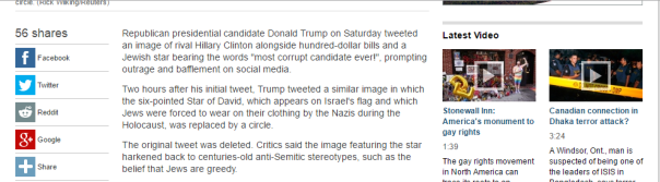 2016-07-03 04_24_33-Trump accuses Clinton of corruption with tweet featuring cash, Jewish Star of Da