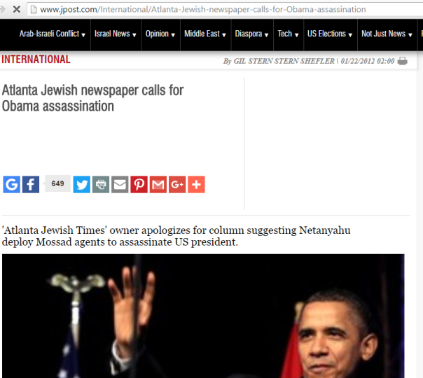 2016-07-05 04_27_35-Atlanta Jewish newspaper calls for Obama assassination - International - Jerusal