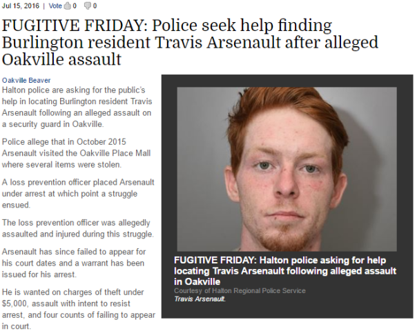 2016-07-18 03_19_08-FUGITIVE FRIDAY_ Police seek help finding Burlington resident Travis Arsenault a