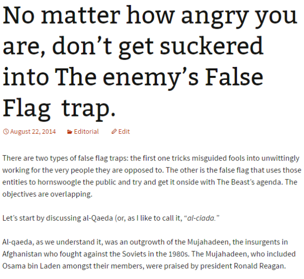 2016-07-30 04_50_34-No matter how angry you are, don't get suckered into The enemy's False Flag trap