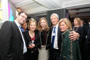 Gillian Tett, FT, Chelsea Clinton, Jamie Dimon and Mary Callahan