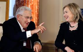 Henry Kissinger Hillary Clinton