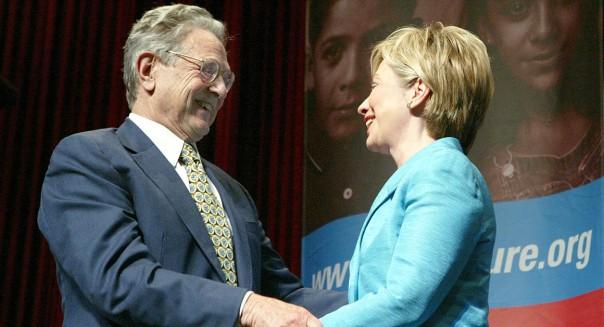 Hillary Clinton George Soros