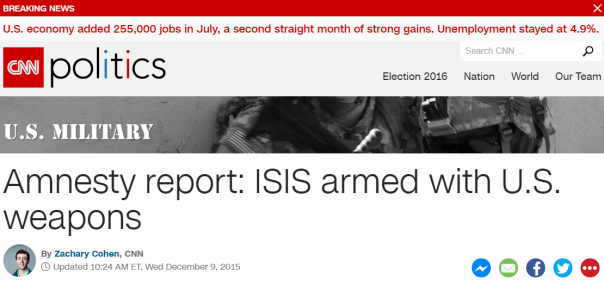 2016-08-05 10_36_46-Amnesty report_ ISIS armed with U.S. weapons - CNNPolitics.com