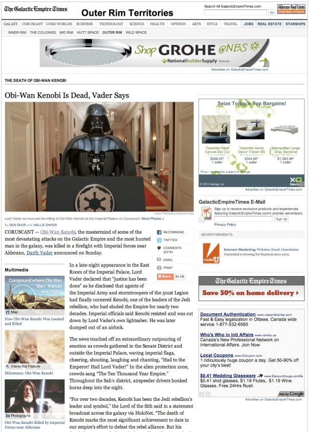 Galactic Empire Times