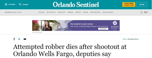 2018-05-09 13_48_45-Attempted robber dies after shootout at Orlando Wells Fargo, deputies say - Orla