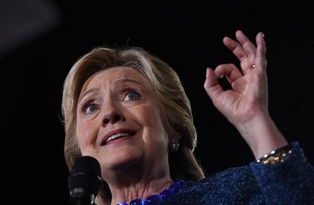 Hillary OK Sign